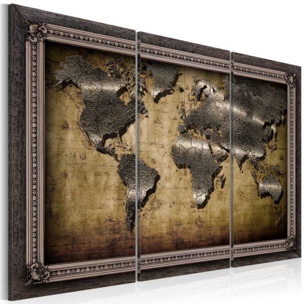 Nya Tavla - Karta i en ram I (Kartor och världskartor) - Etavlor.se EG-17